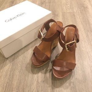 Calvin Klein Wedge Sandals